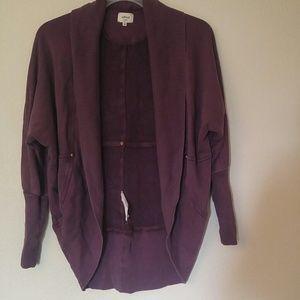 Aritzia Wilfred XS diderot cardigan sweater